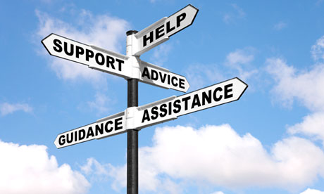 Help Support Advice Assistance and Guidance